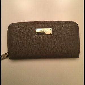 BCBG Leather Wallet